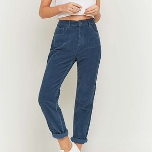 urban outfitters blue corduroy pants